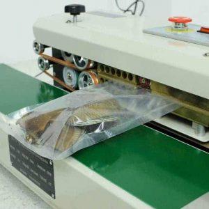 máy hàn miệng túi băng chuyền tự động AS01