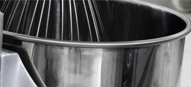 Nồi trộn máy đánh trứng EM làm từ 100% inox 304 an toàn thực phẩm
