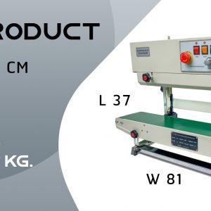 thông số kỹ thuật máy hàn miệng túi băng chuyền tự động AS02