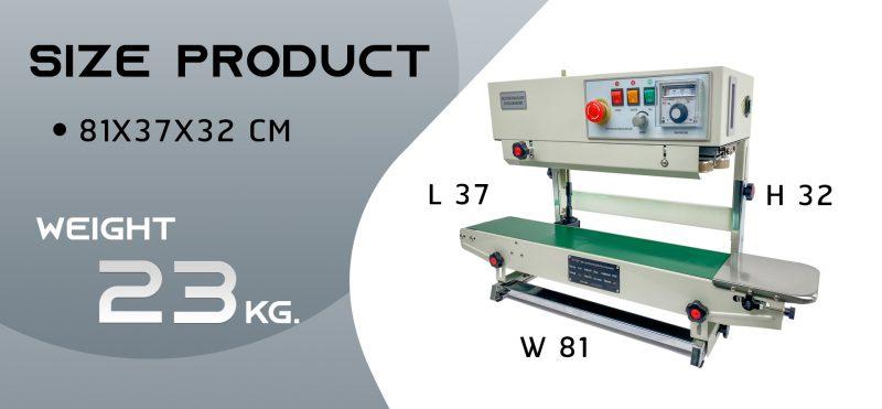 Thông số kỹ thuật máy hàn miệng túi tự động AS01