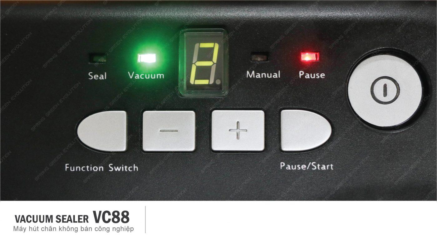 lựa chọn chế độ hàn hút VC88