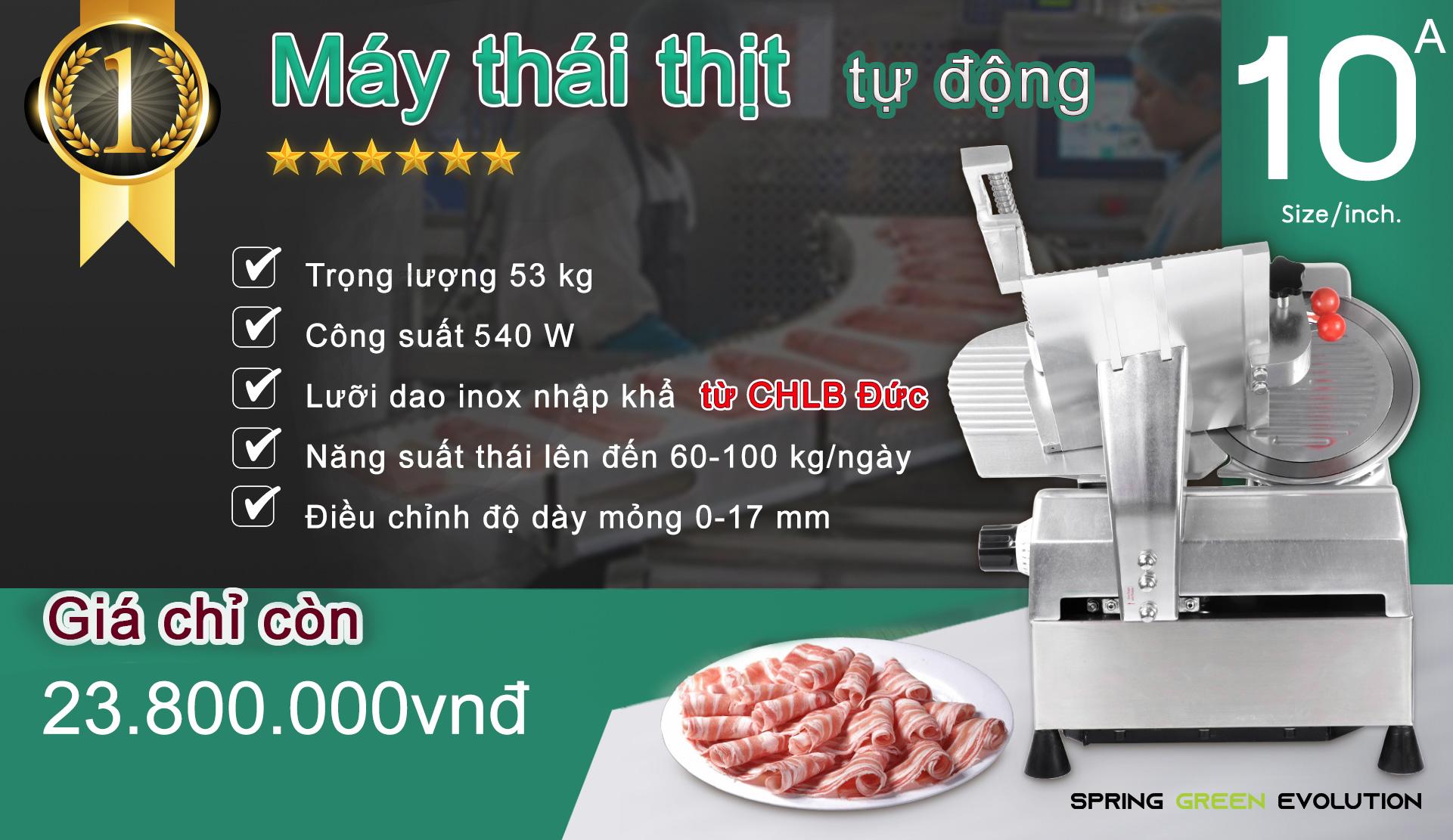 Máy thái thịt tự động MS10A