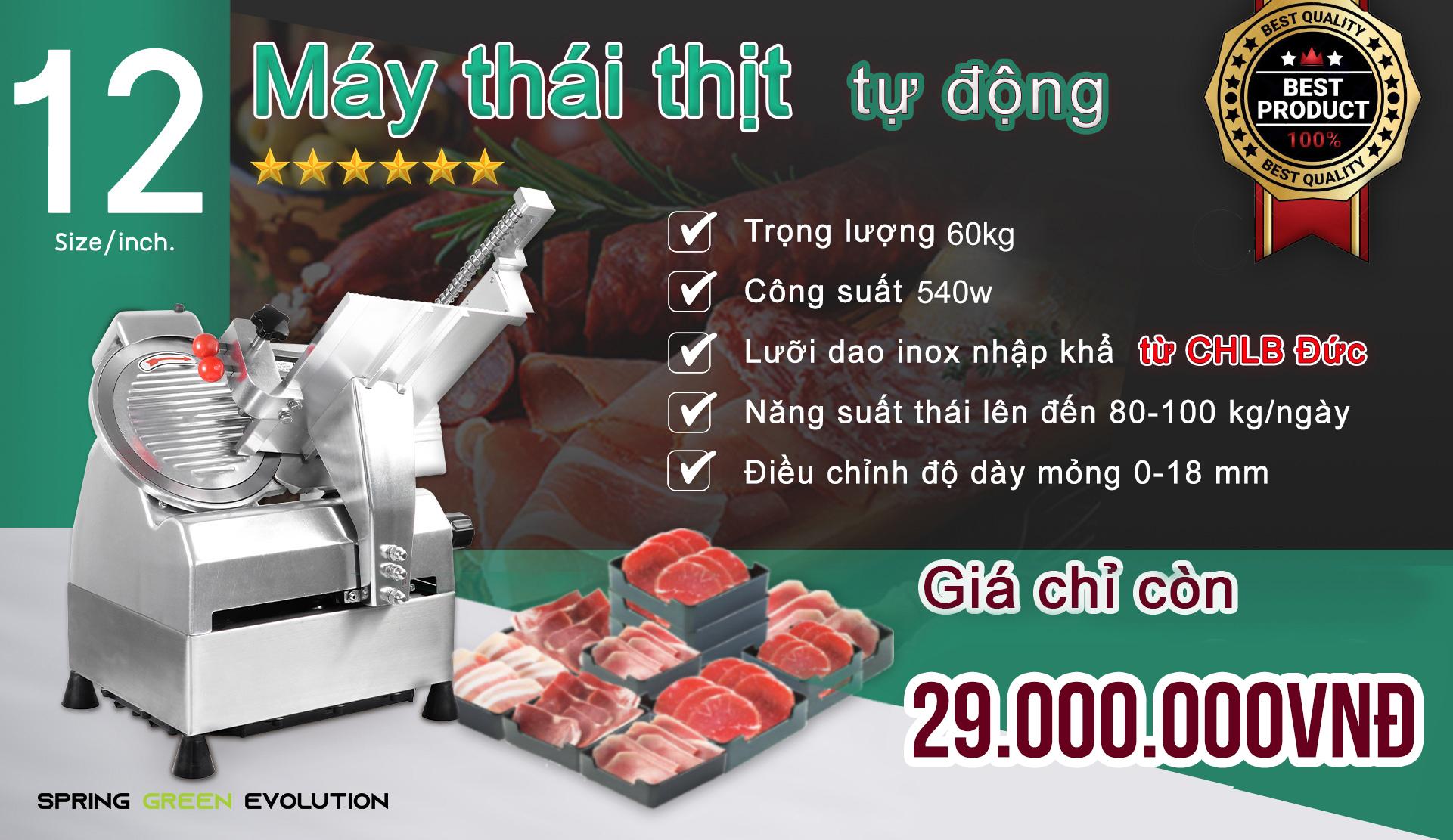 Máy cắt thịt tự động công nghiệp MS12A