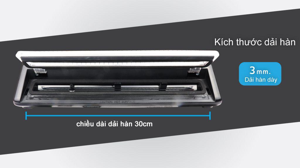 VCX có đường hàn dài 30cm dày 3mm