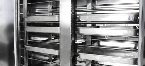 hệ thống khay ủ bột máy PF