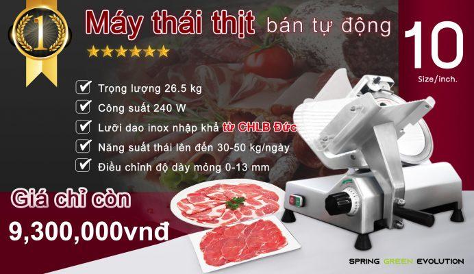 Máy thái thịt bán tự động MS10