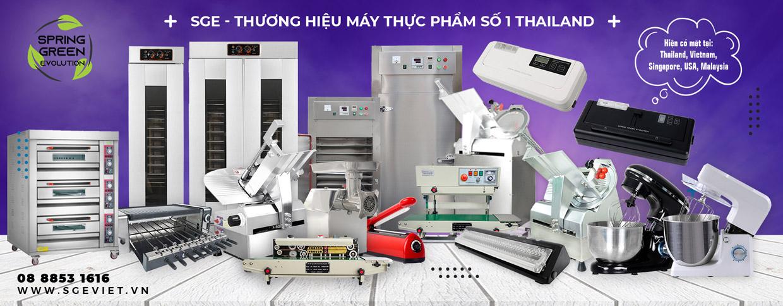 Những sản phẩm máy thực phẩm từ SGE