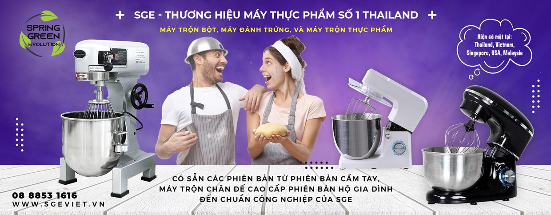 SGE thương hiệu máy thực phẩm số 1 thái lan
