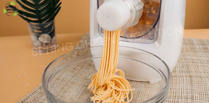 Máy làm mì tươi Pasta maker cho ra sản phẩm tốc độ cao